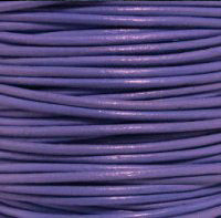 Q-Link Leather Cord (Natural Violet)