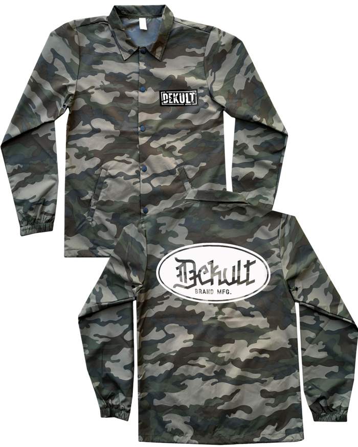 DEKULT - BRAND MFG. CAMO WINDBREAKER