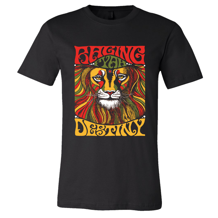 Raging Fyah - Destiny Tee (Black)