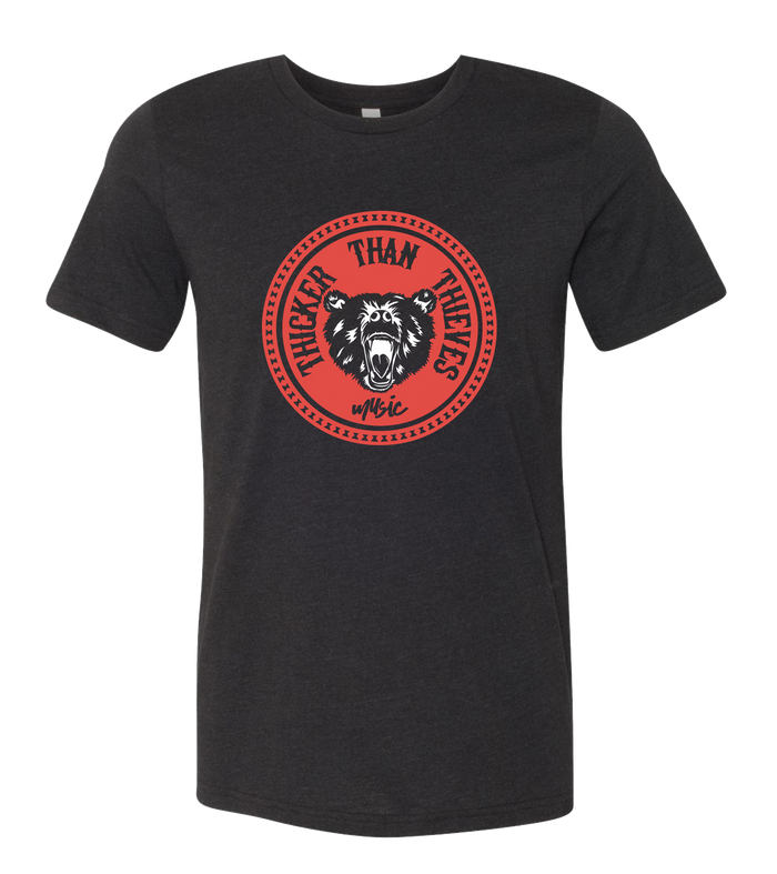 Thicker Than Thieves - Circle Tee (Red/Black)