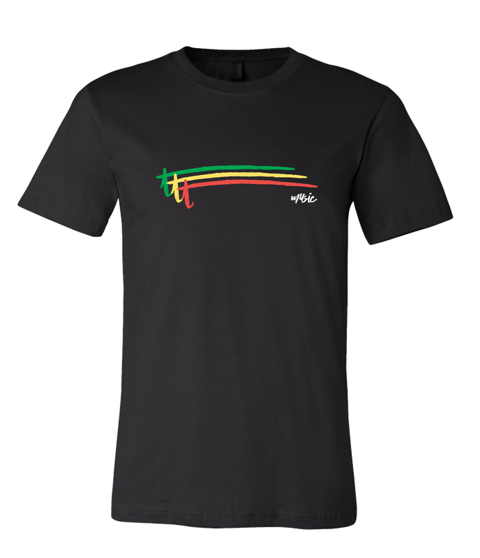 Thicker Than Thieves -  Rasta Stripe Tee