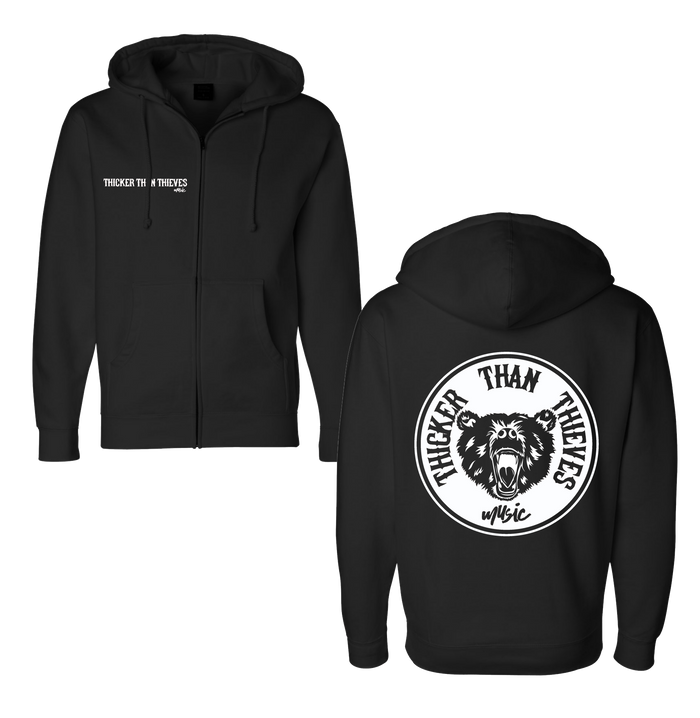Thicker Than Thieves -  Circle Hoodie
