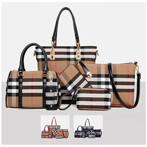 6 In 1 Have It All Handbag From Journey Collection