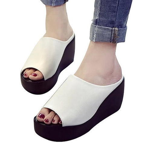 Fiji Platform Wedges Fabulous And Minimal