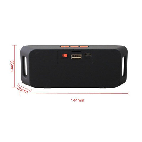 Tune Thunder Rechargeable Wireless Bluetooth Portable Speaker Outdoor USB/TF/FM Radio Stereo