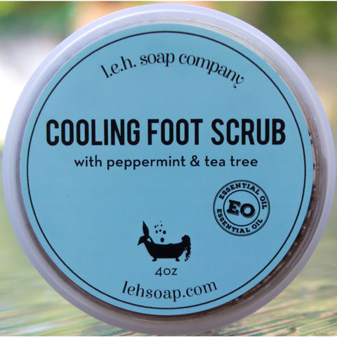 Cooling Foot Scrub