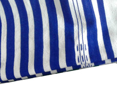 Mendil - Beach Towel - Blue Thick Stripes - Blanket Mendil | Moroccan Corridor