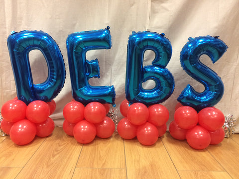 16 inch Letter Shaped Balloons