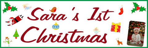 Christmas Personalised Banner