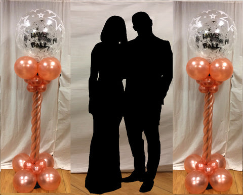 6ft Debs Balloon Column