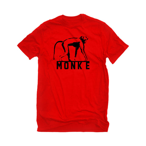 MONK-E Tee - Red
