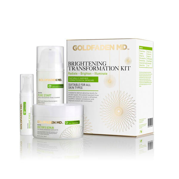 GOLDFADEN MD | Brightening Transformation Kit