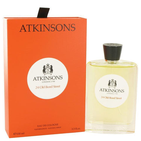 24 Old Bond Street by Atkinsons Eau De Cologne Spray 3.3 oz - Buy Beauty Products