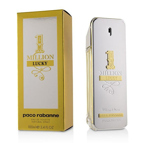 One Million Lucky Eau De Toilette Spray - 100ml-3.4oz - Buy Beauty Products