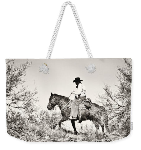 I Went Up to the Mountain Weekender Tote bag
