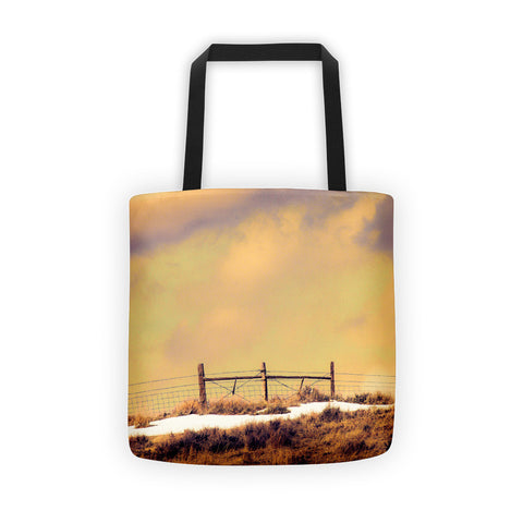 North Gate to Sunset Tote bag