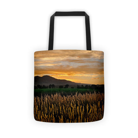 Western Skies at Sunset Tote bag