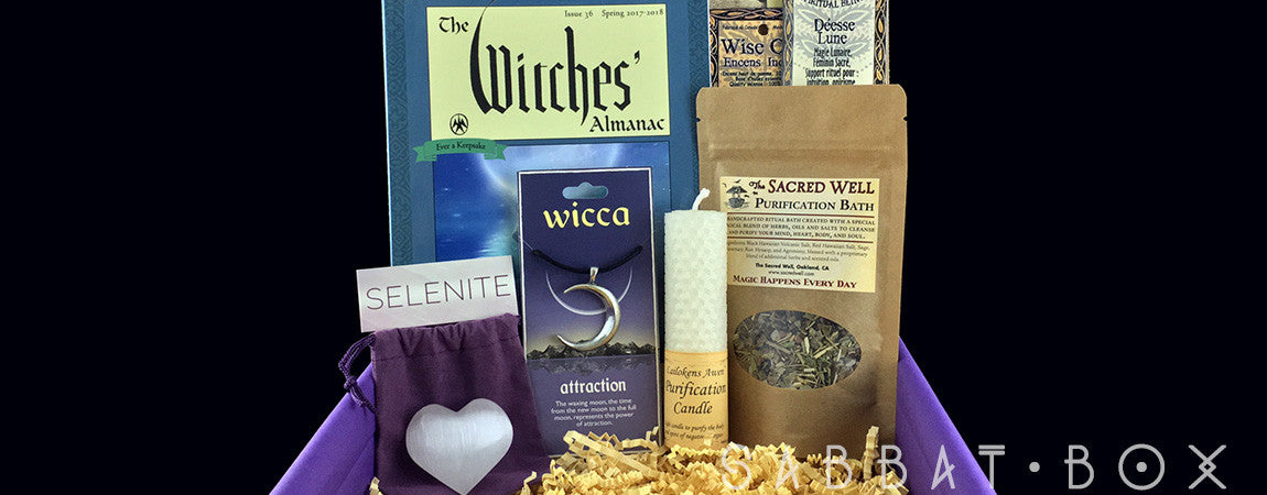 Products From The Imbolc Sabbat Box