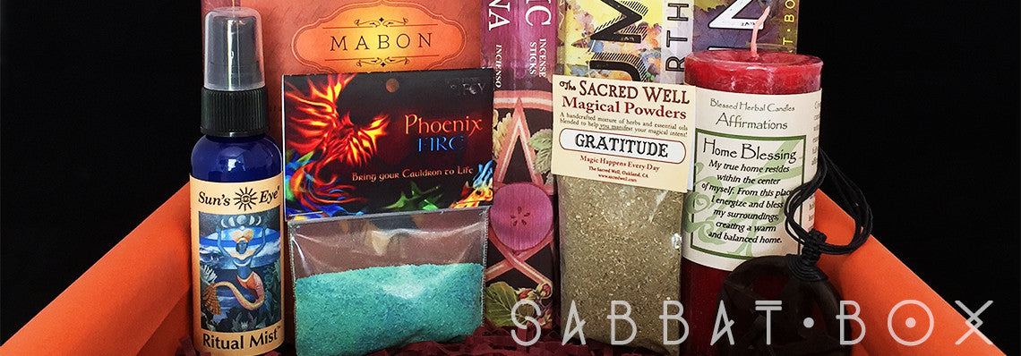 Products From Previous Mabon Sabbat Boxes