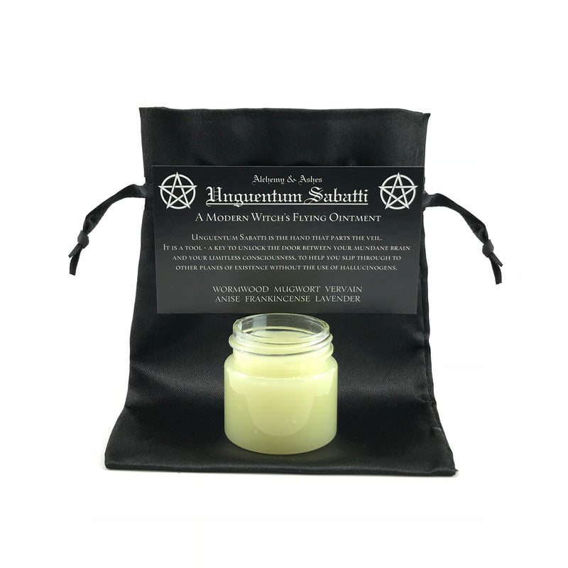 Unguentum Sabatti - Hand Crafted Flying Ointment By Alchemy & Ashes - Sabbat Box