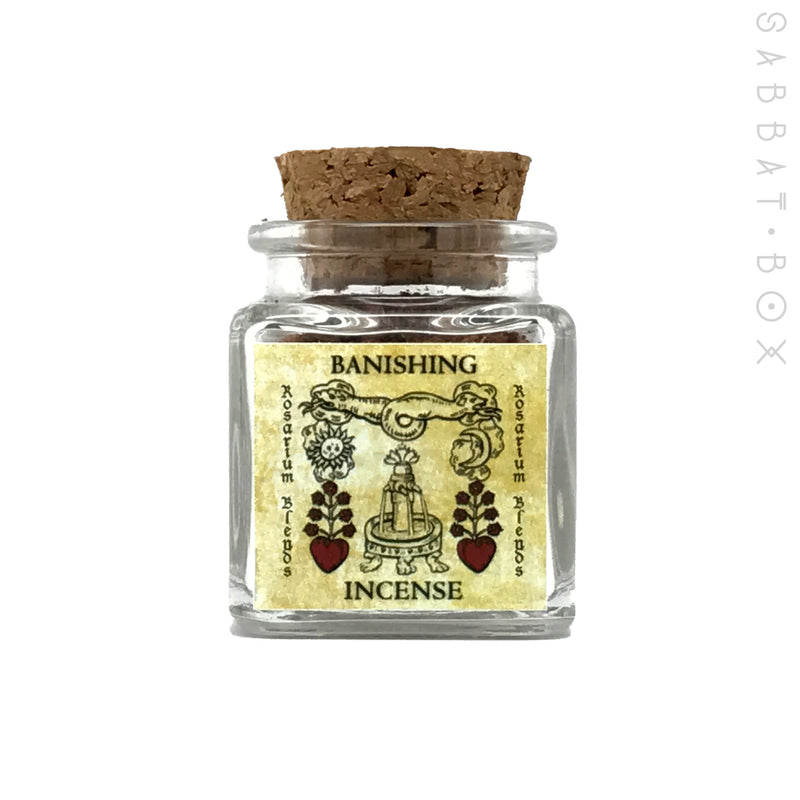 Banishing Ritual Incense By Rosarium Blends