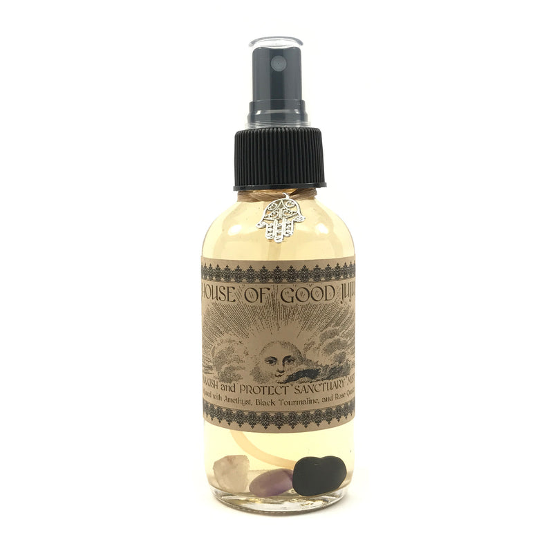 Crystal Infused Banish and Protect Sanctuary Mist