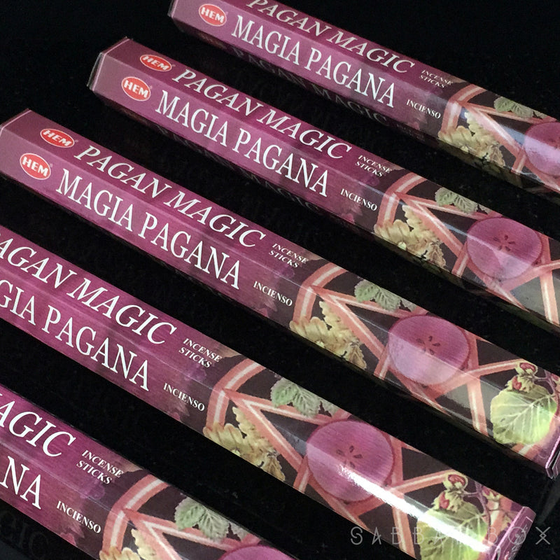 Pagan Magic Stick Incense - Sabbat Box