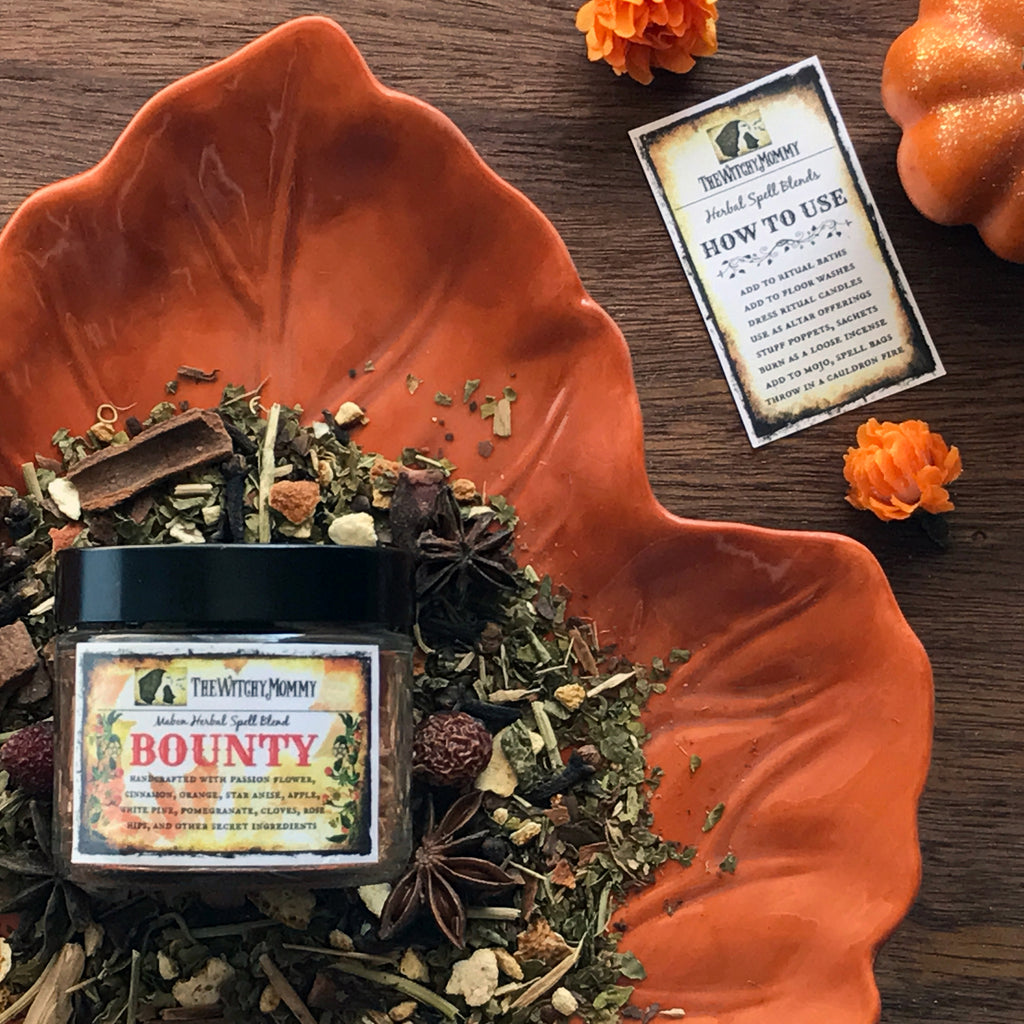 Bounty Mabon Herbal Blend - By The Witchy Mommy - Sabbat Box