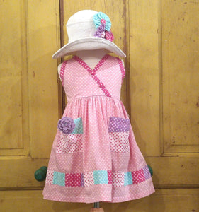Pastel Dots Patchwork Dress