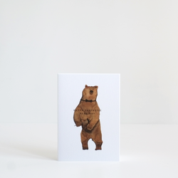 Happy Bear Day Card