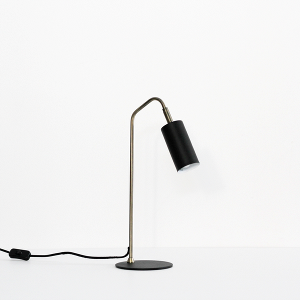 Gem Table Lamp - Black