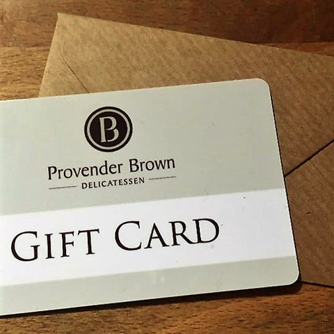 Provender Brown Gift Card