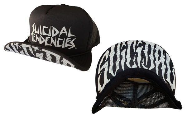 Suicidal Tendencies Hat - Classi OG Flip up with new Brim