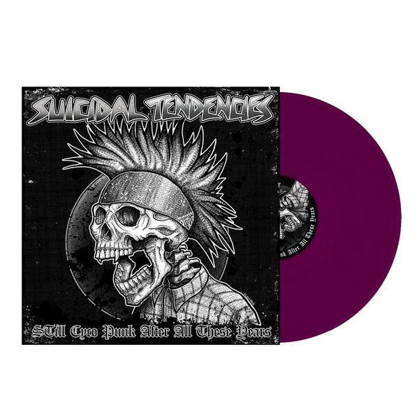 'STill Cyco Punk After All These Years' LP - PURPLE WITH DOWNL CARD (Shipping Charges Included)