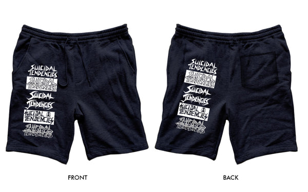 Suicidal Tendencies cotton Shorts 'The Legacy' Black