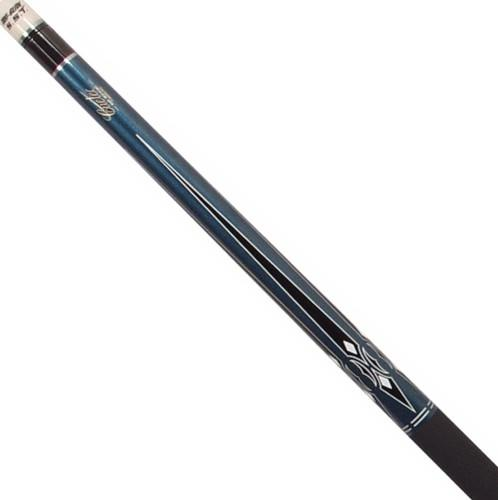 Cuetec Chinook American Pool Cue - Blue