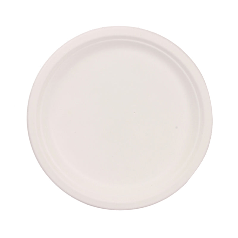 Pappco Greenware 10 Inch Big Round Plate (Pack Of 20)