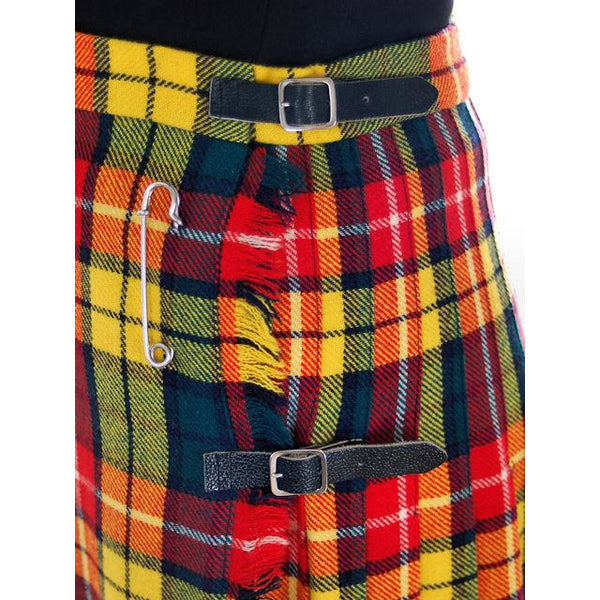 Vintage Ladies Scottish Maxi Skirt Made In Scotland Laird-Portch Small - The Best Vintage Clothing  - 5