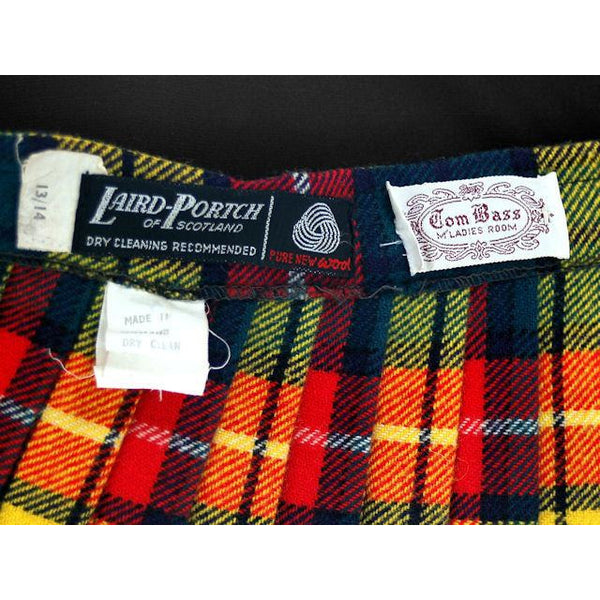 Vintage Ladies Scottish Maxi Skirt Made In Scotland Laird-Portch Small - The Best Vintage Clothing  - 7