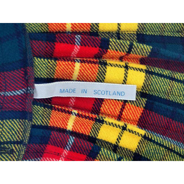 Vintage Ladies Scottish Maxi Skirt Made In Scotland Laird-Portch Small - The Best Vintage Clothing  - 8