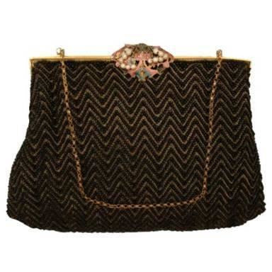 H. A. & E. Smith French Beaded Evening Bag 1920'S - The Best Vintage Clothing  - 1