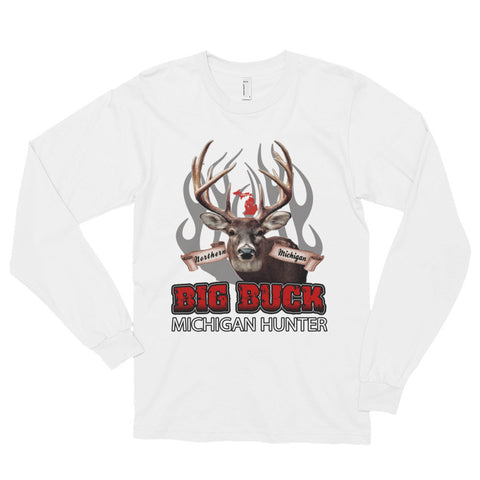 Big Buck Hunter - Long sleeve t-shirt (unisex)
