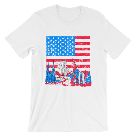 USA Cities - Short-Sleeve Unisex T-Shirt