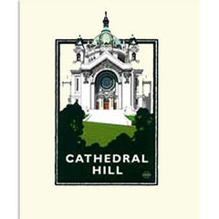 Cathedral Hill Print