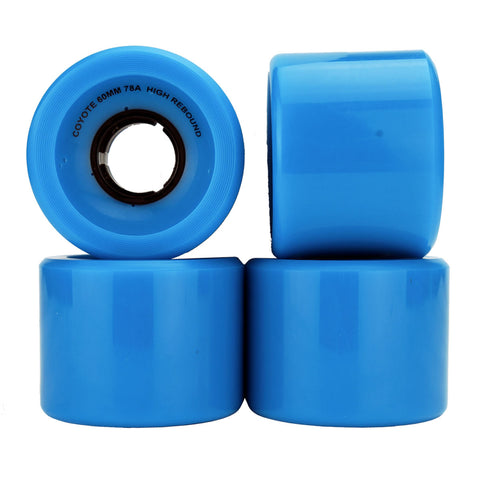 Coyote Cruiser Wheels - Turquoise - 60mm / 78A