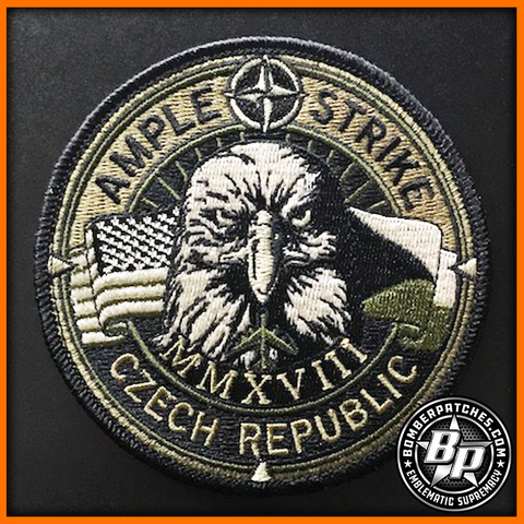 AMPLE STRIKE 2018 PATCH OCP EMBROIDERED RAF FAIRFORD