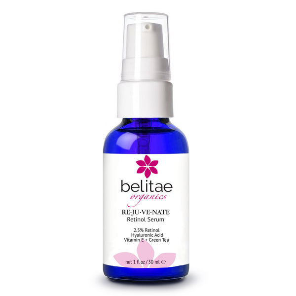 Belitae Retinol Serum with Hyaluronic Acid - Professional Anti Aging Serum for Face