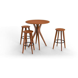 "Greenington Modern Bamboo Mimosa 40"" Bar Table-Minimal & Modern"