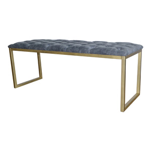 Avril Bonded Leather Bench by New Pacific Direct - 9900004