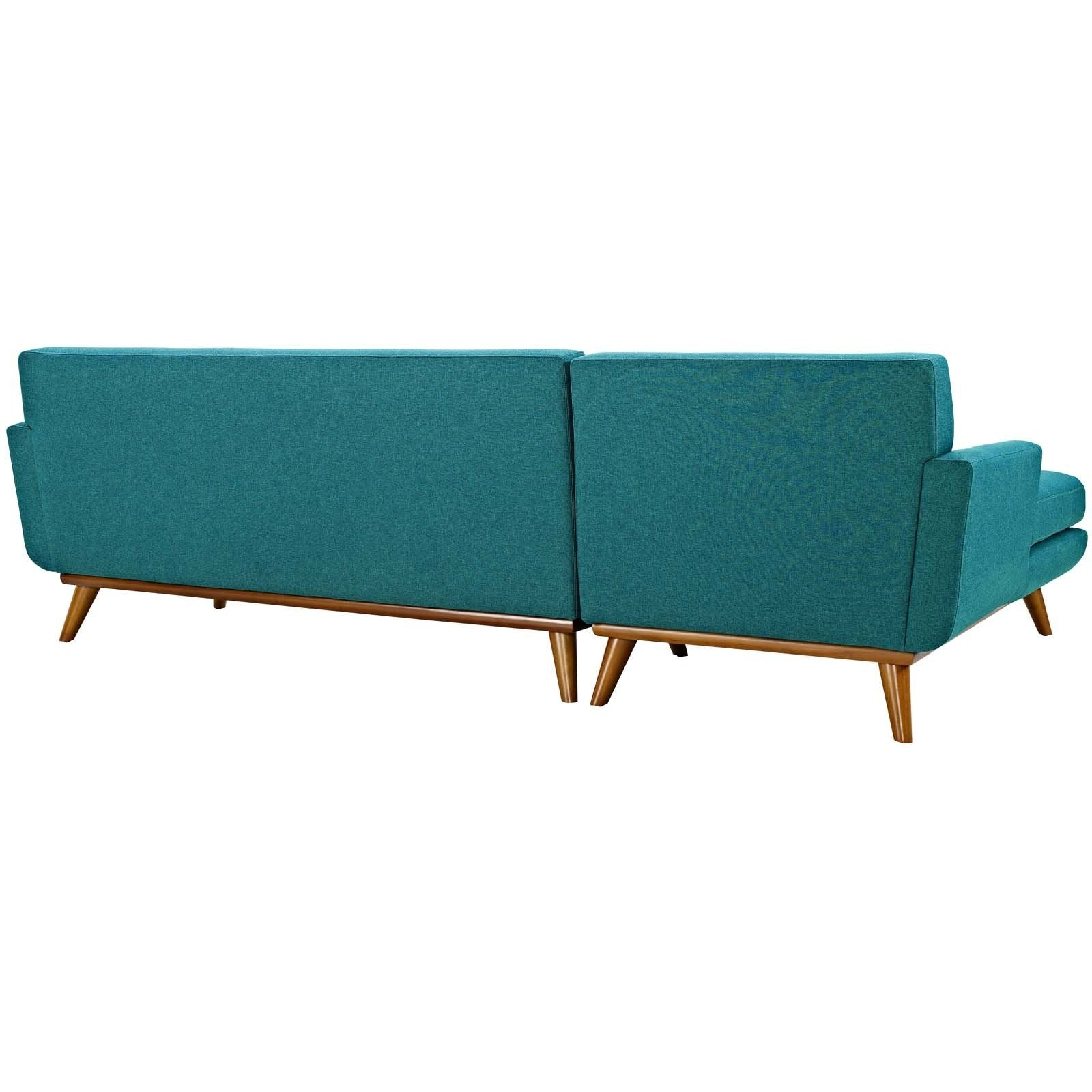 Modway Furniture Modern Engage Left Facing Sectional Sofa